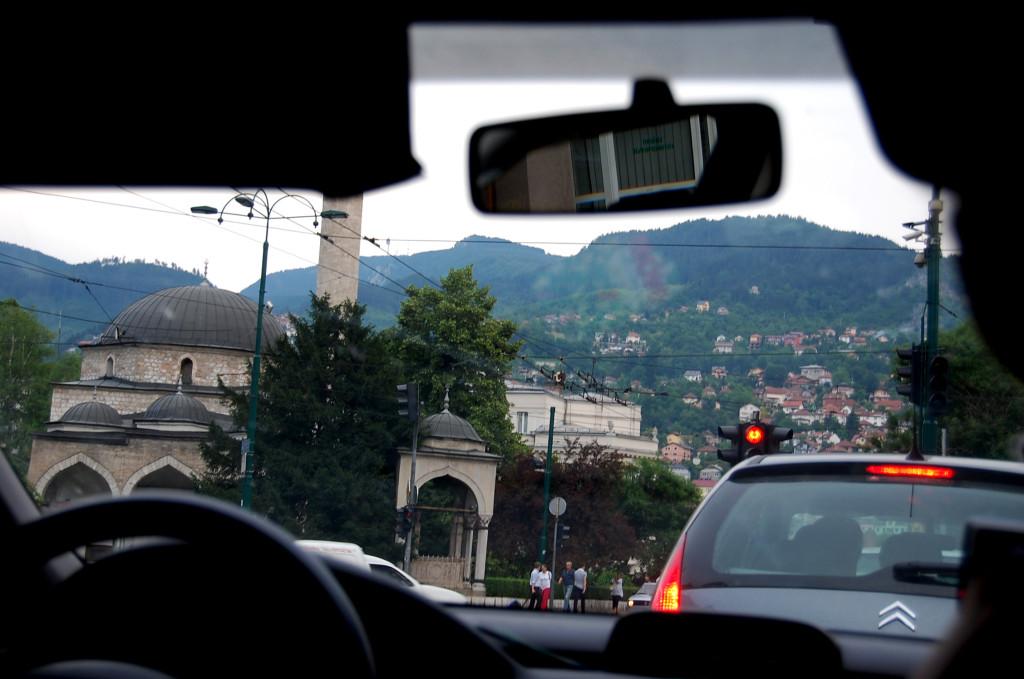 Príchod do Sarajeva