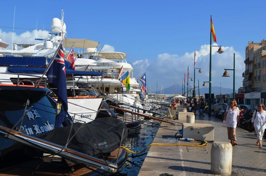Oceánske jachtičky v Saint Tropéz