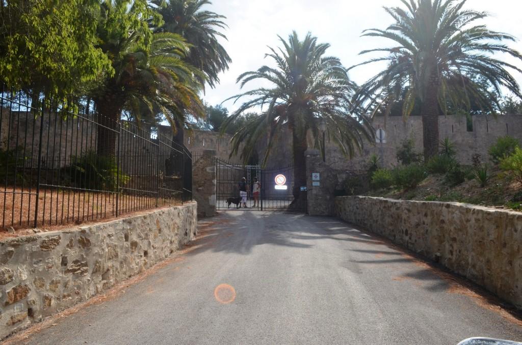 Vstupná brána do Citadelle de Saint Tropez