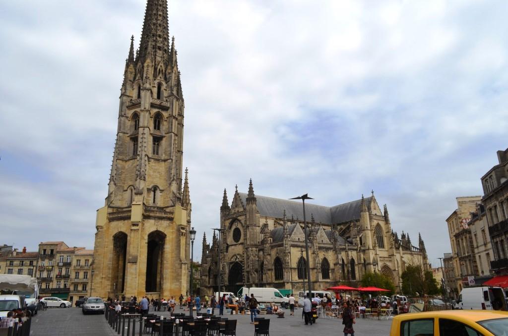Bordeaux - námestie